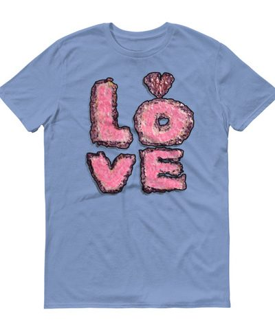 Short sleeve t-shirt Big Love Stone Age Toaster Pastry from Doodleslice