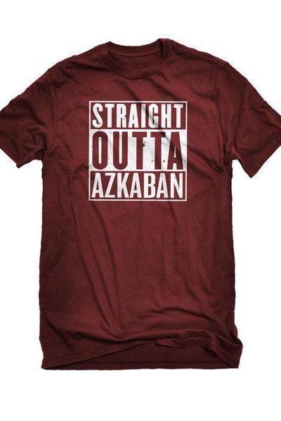 Straight Outta Azkaban Mens Unisex T-shirt
