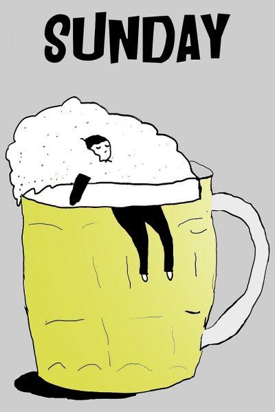 Sunday Lazy Beer