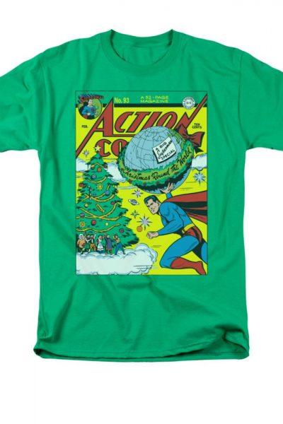 Superman – Comic Cover No. 93 Adult Regular Fit T-Shirt