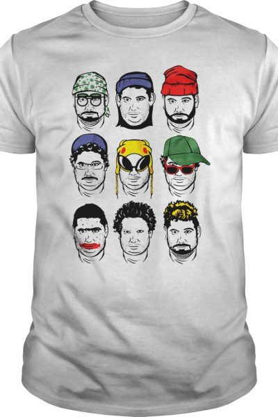 The faces of h3h3 shirt, hoodie, tank top and v-neck t-shirt