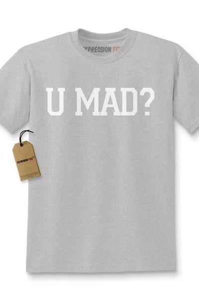 U Mad? You Mad? Kids T-shirt