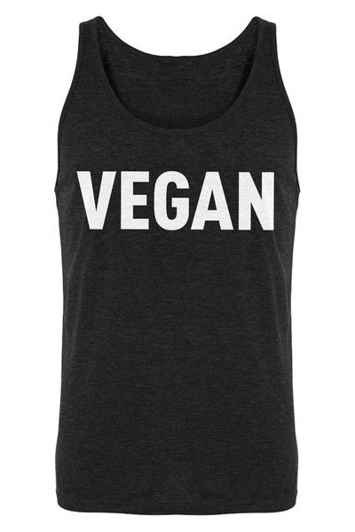 Vegan Mens Sleeveless Tank Top