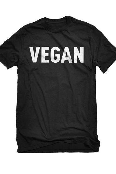 Vegan Mens Unisex T-shirt