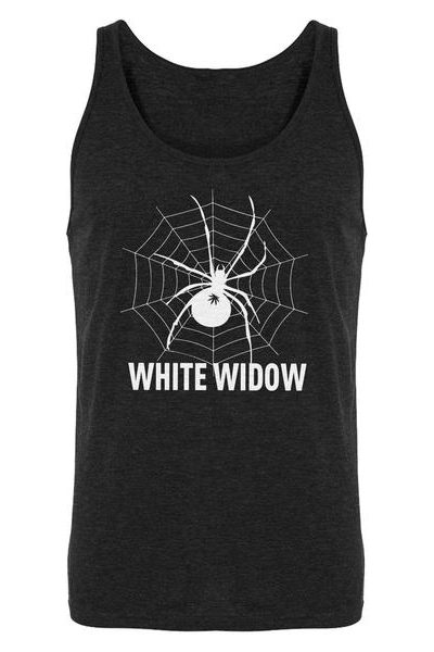 White Widow Mens Sleeveless Tank Top
