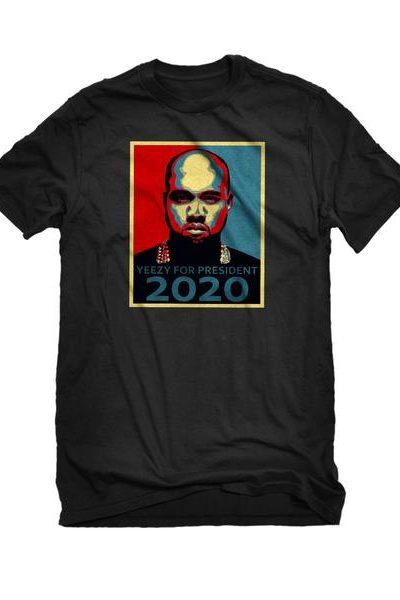 Yeezy for President 2020 Mens Unisex T-shirt