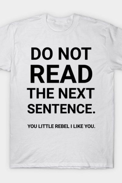 You little rebel I like you T-Shirt