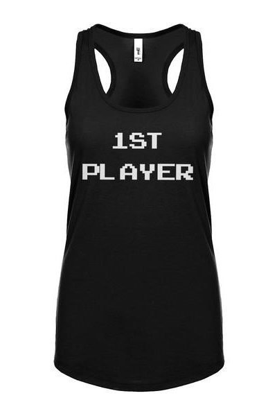 1st Player Womens Sleeveless Tank Top