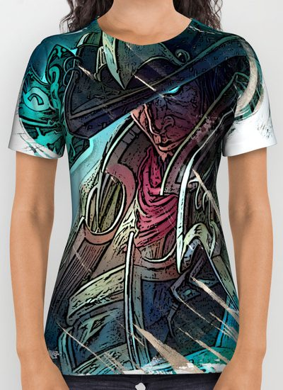 All Over Print Shirt TWISTED FATE
