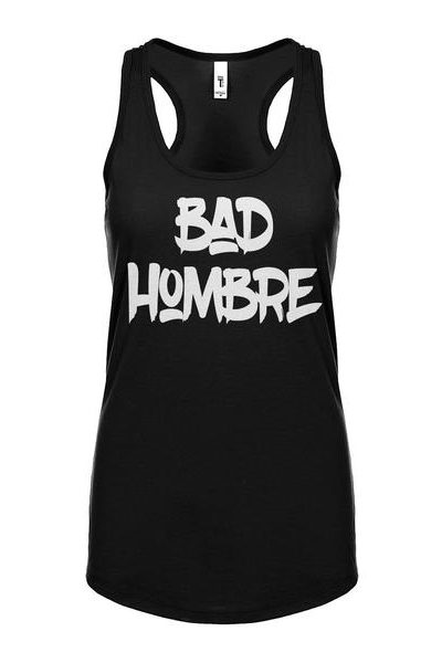 Bad Hombre Vote 2016 Womens Sleeveless Tank Top
