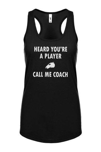 Call me Coach Womens Sleeveless Tank Top
