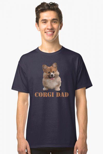 Corgi Dog Dad