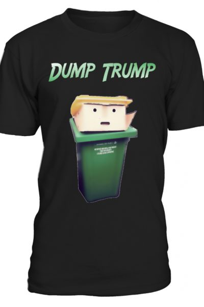 Dump Trump TShirt  Dump Trump Caricature