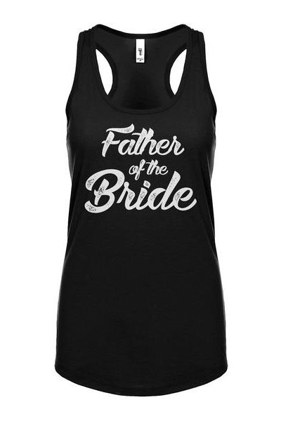 Father of the Bride Womens Sleeveless Tank Top