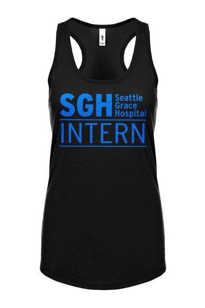 Intern Seattle Grace Hospital Womens Sleeveless Tank Top