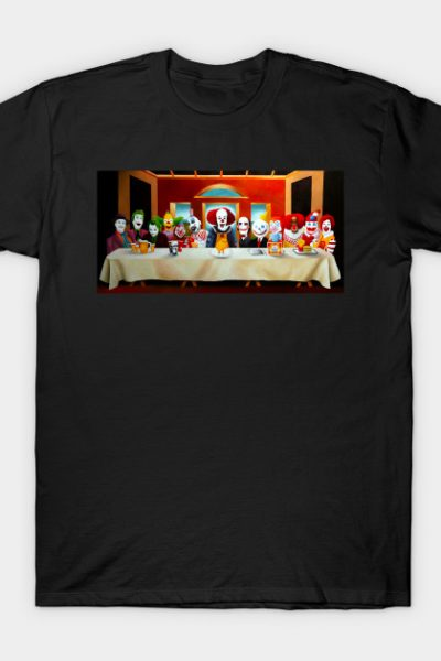 Last Supper of the Evil Clowns T-Shirt