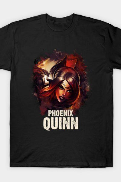 League of Legends PHOENIX QUINN T-Shirt