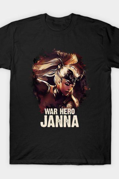 League of Legends WAR HERO JANNA T-Shirt