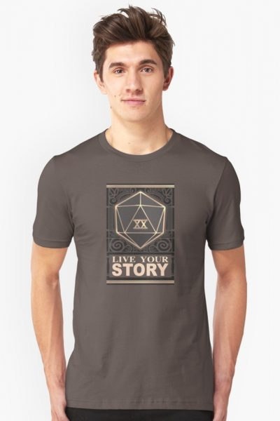 Live Your Story (Roll your dice! D20)