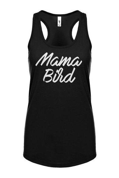 Mama Bird Womens Sleeveless Tank Top