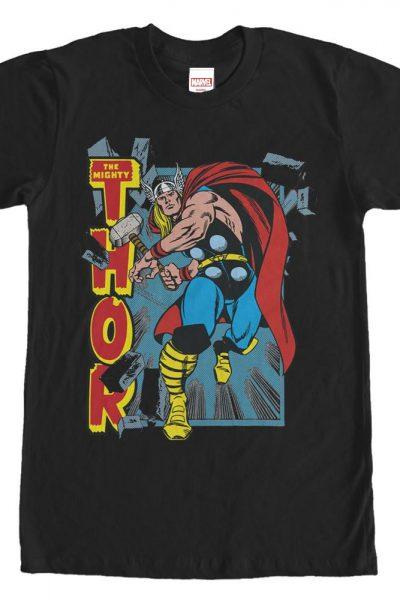 Marvel – Rock City Adult Regular Fit T-Shirt