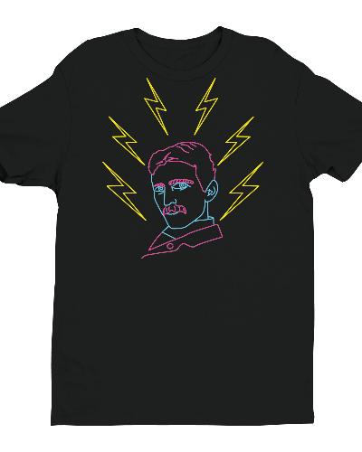 Neon Tesla Shirt
