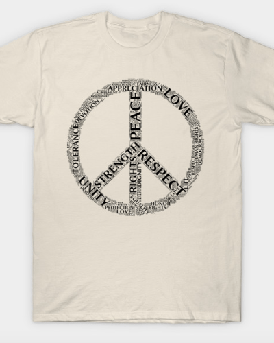 Peaceful Words T-Shirt