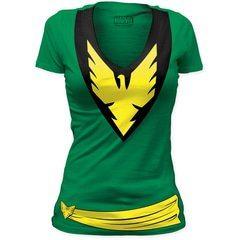 Phoenix Women's V-Neck T-Shirt | TeeShirtPalace