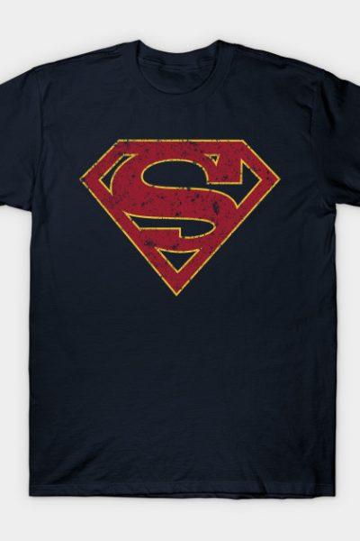 (S) Melissa Benoist SUPERGIRL grunge T-Shirt