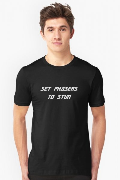 Set Phaser to stun