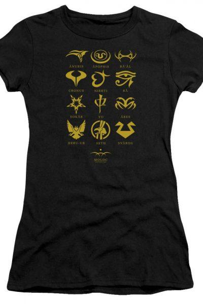 Sg1 Goa'uld Characters Junior T-Shirt