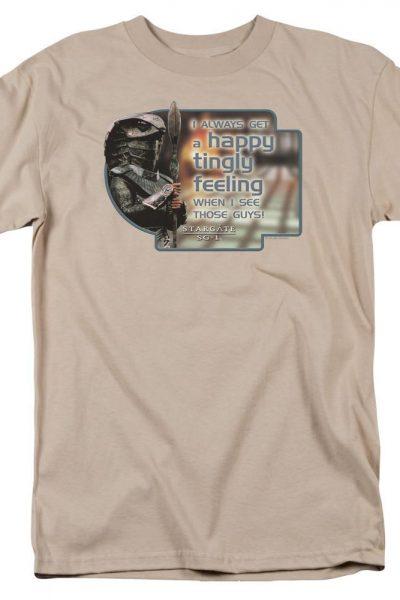 Sg1 Happy Feeling Adult Regular Fit T-Shirt