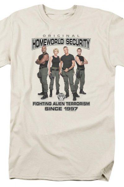 Sg1 Homeworld Security Adult Regular Fit T-Shirt