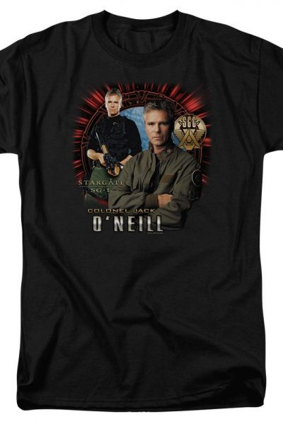 Sg1 Jack O'neill Adult Regular Fit T-Shirt