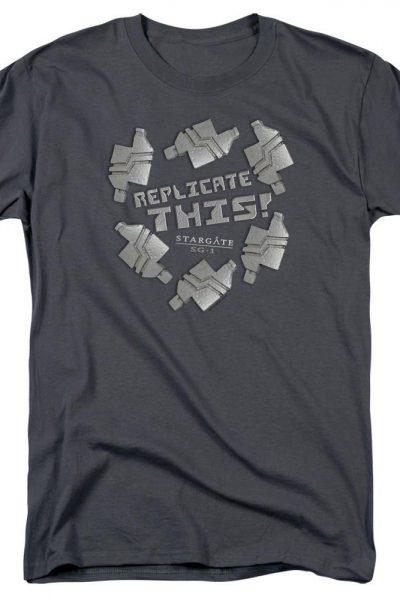 Sg1 Replicate This Adult Regular Fit T-Shirt