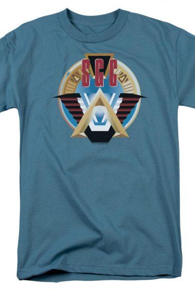 Sg1 Sgc Logo Adult Regular Fit T-Shirt