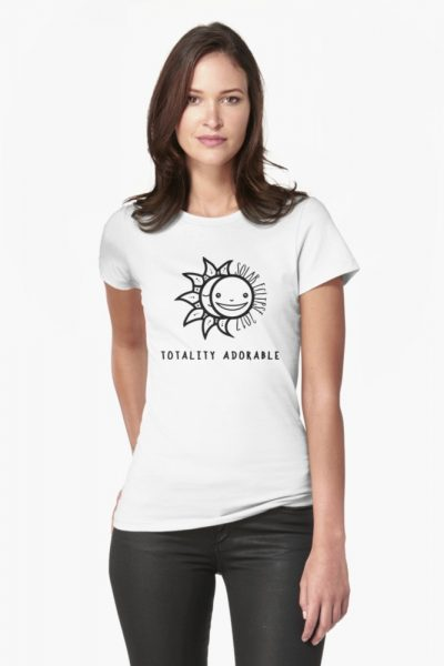 Solar Eclipse 2017 Shirt – Totality Adorable – August 21, 2017 – Black and White