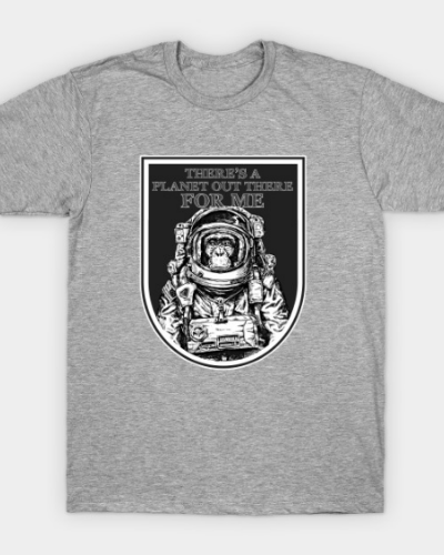 Space Monkey Astronaut T-Shirt