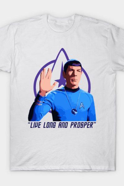 Spock Live Long and Prosper T-Shirt