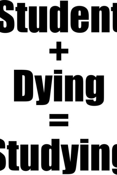 Student + Dying = Studying T Shirt By Empirrr Design By Humans