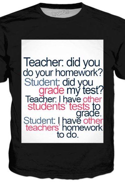 Teachers Vs Students