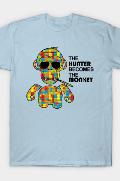 The Hunter Becomes The Monkey T-Shirt