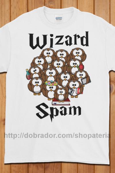 Wizard Spam T-Shirt (Unisex)   Dobrador Shopateria