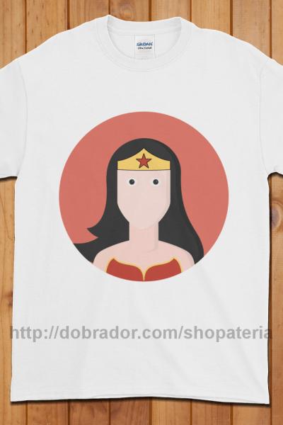 Wonder Woman T-Shirt (Unisex) | Dobrador Shopateria