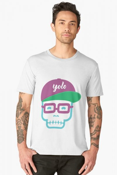YOLO Baseball Cap Skull