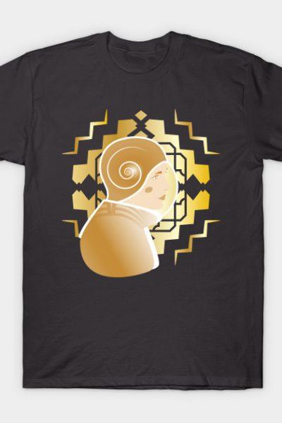 Art Deco SciFi Astronaut Design T-Shirt