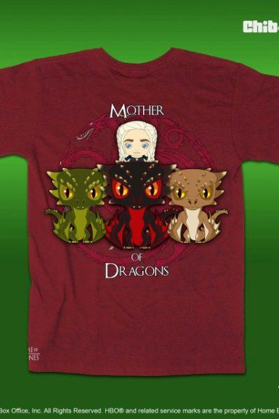 Chib-Teez: Mother of Dragons Unisex Shirt