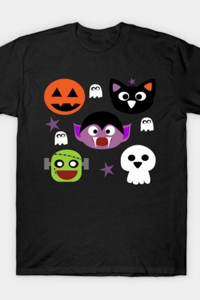 cute Halloween friends T-Shirt