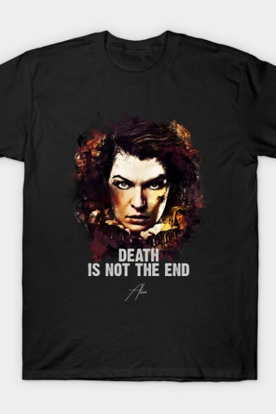Death Is Not The End – Alice T-Shirt