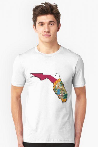 Florida Flag [Blk] | State Line | SteezeFSC